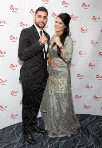 Natasha Asghar, Amir Khan - Londra - 13-06-2017 - Lindsay Lohan, l'abito di Gucci vale 4500 euro