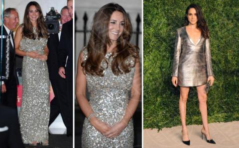 Meghan Markle, Kate Middleton - 14-06-2017 - Kate Middleton e Meghan Markle, stesso look, stesso stile!