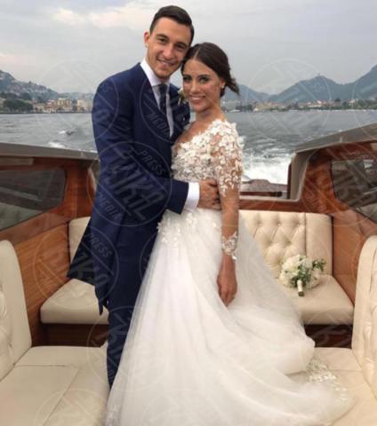 Francesca Cormanni, Matteo Darmian - Milano - 15-06-2017 - Bianca Balti sposa in D&G: è suo l'abito più bello dell'anno?