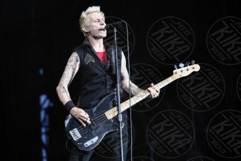 Mike Dirnt, Billie Joe Armstrong, Green Day - Monza - 15-06-2017 - I Green Day scatenano la folla dell'iDays Festival di Monza