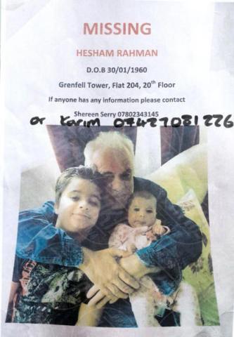Dispersi - Londra - 15-06-2017 - Grenfell Tower, sono morti Gloria Trevisan e Marco Gottardi