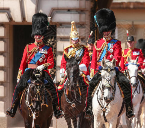 Principe Carlo d'Inghilterra, Principe William - Londra - 17-06-2017 - Trooping The Colour: la festa blindata per la Regina Elisabetta