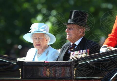Regina Elisabetta II, Principe Filippo Duca di Edimburgo - Londra - 17-06-2017 - Trooping The Colour: la festa blindata per la Regina Elisabetta