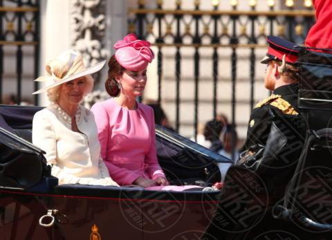 Kate Middleton, Camilla Parker Bowles - Londra - 17-06-2017 - Trooping The Colour: la festa blindata per la Regina Elisabetta