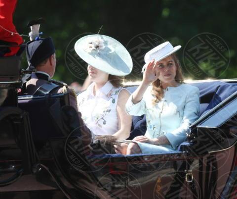Principessa  Beatrice di York, Principessa Eugenia di York - Londra - 17-06-2017 - Trooping The Colour: la festa blindata per la Regina Elisabetta