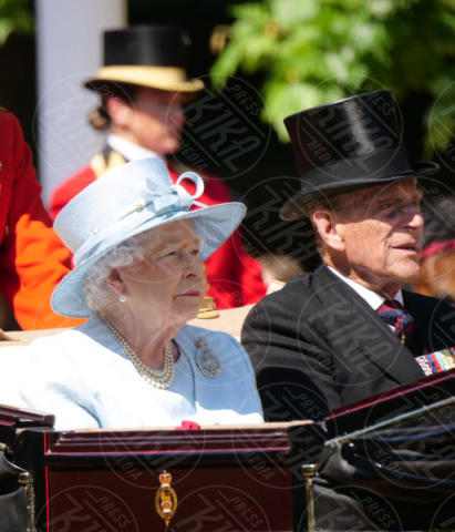 Duke of Edinburgh, Prince Philip, Queen - Londra - 17-06-2017 - Trooping The Colour: la festa blindata per la Regina Elisabetta