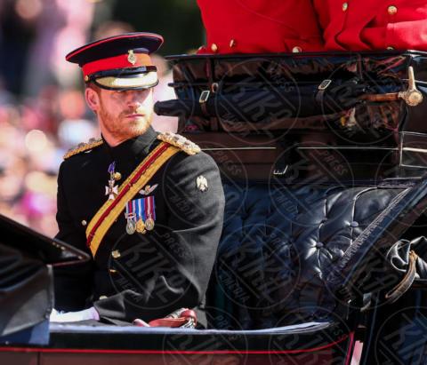 Principe Harry - Londra - 17-06-2017 - Trooping The Colour: la festa blindata per la Regina Elisabetta