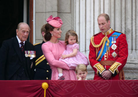 Principessa Charlotte Elizabeth Diana, Principe George, Principe William, Kate Middleton - Londra - 17-06-2017 - Trooping The Colour: la festa blindata per la Regina Elisabetta