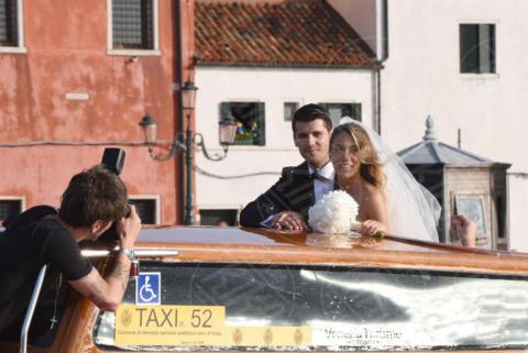 Alice Campello, Alvaro Morata - Venezia - 17-06-2017 - Alvaro Morata e Alice Campello: le foto delle nozze veneziane