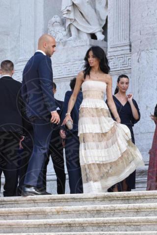 Simone Zaza, Chiara Biasi - Venezia - 17-06-2017 - Alvaro Morata e Alice Campello: le foto delle nozze veneziane