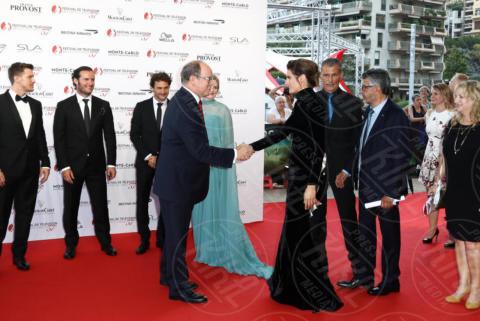 Principe Alberto di Monaco, Stana Katic - Monte Carlo - 16-06-2017 - Monte-Carlo Television Festival: regina è la bellezza