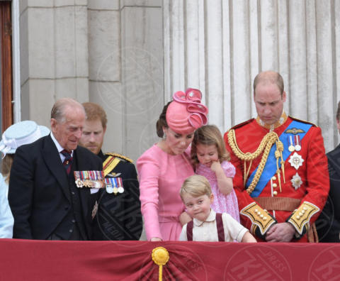 Princess Charlotte, Prince George, Principessa Charlotte Elizabeth Diana, Principe George, Principe William, Kate Middleton - Londra - 18-06-2017 - Principino George: le sette foto che lo hanno resto una star