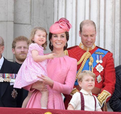 Princess Charlotte, Prince George, Principessa Charlotte Elizabeth Diana, Principe George, Principe William, Kate Middleton - Londra - 18-06-2017 - Kate Middleton incinta per la terza volta
