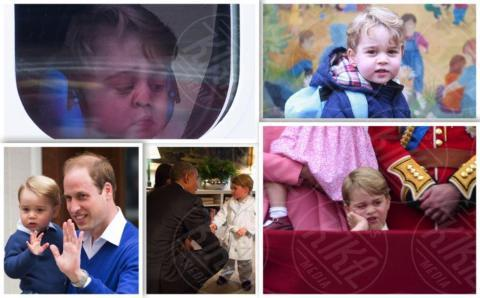 Principessa Charlotte Elizabeth Diana, Principe George, Principe William, Kate Middleton, Principe Harry - Londra - 17-06-2017 - Principino George: le sette foto che lo hanno resto una star