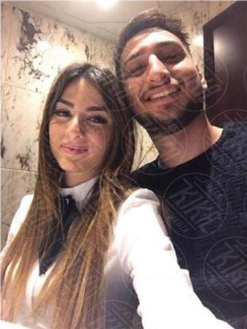 alessia elefante, Gianluigi Donnarumma - Milano - 19-06-2017 - Under 21: ecco le fidanzate degli azzurrini