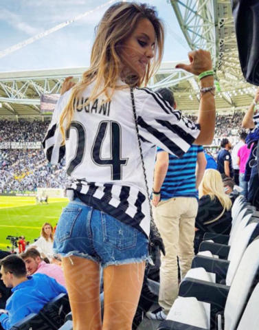 MICHELA PERSICO - Milano - 19-06-2017 - Under 21: ecco le fidanzate degli azzurrini