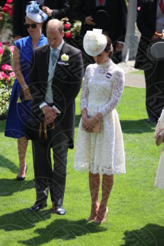 Principe William, Kate Middleton - Londra - 20-06-2017 - Royal Ascot 2017: Kate Middleton, look che vince non si cambia!
