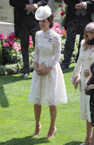Kate Middleton - Londra - 20-06-2017 - Royal Ascot 2017: Kate Middleton, look che vince non si cambia!