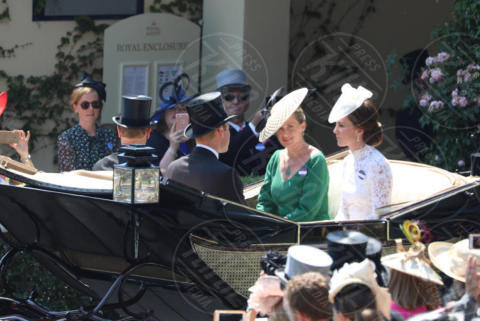 Catherine, Kate Middleton - Ascot - 20-06-2017 - Royal Ascot 2017: Kate Middleton, look che vince non si cambia!