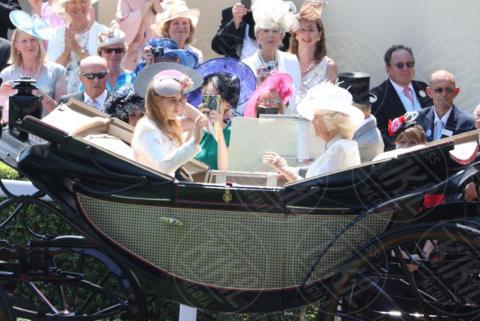 Principessa Eugenia di York, Camilla Parker Bowles - Ascot - 20-06-2017 - Royal Ascot 2017: Kate Middleton, look che vince non si cambia!