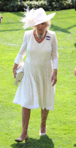 Camilla Parker Bowles - Londra - 20-06-2017 - Royal Ascot 2017: Kate Middleton, look che vince non si cambia!