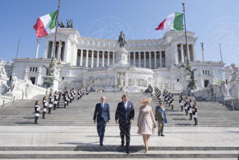 Guglielmo Alessandro dei Paesi Bassi, Regina Maxima d'Olanda - Roma - 20-06-2017 - Guglielmo Alessandro e Maxima d'Olanda, un giorno da italiani