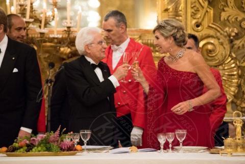 Regina Maxima d'Olanda, Sergio Mattarella - Roma - 20-06-2017 - Guglielmo Alessandro e Maxima d'Olanda, un giorno da italiani