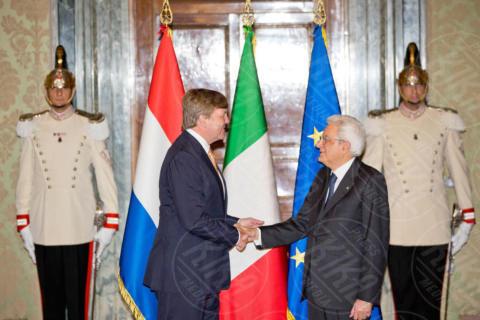 Guglielmo Alessandro dei Paesi Bassi, Sergio Mattarella - Roma - 20-06-2017 - Guglielmo Alessandro e Maxima d'Olanda, un giorno da italiani