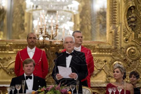 Regina Maxima d'Olanda, Sergio Mattarella, Principe Willem-Alexander - Roma - 20-06-2017 - Guglielmo Alessandro e Maxima d'Olanda, un giorno da italiani