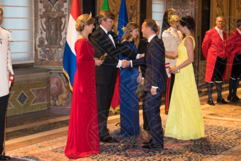 Princess Viktoria from the Netherlands, Prince Jaime from the Netherlands, King Willem-Alexander, Queen Maxima, Regina Maxima d'Olanda, Re Willem-Alexander d'Olanda - Roma - 20-06-2017 - Guglielmo Alessandro e Maxima d'Olanda, un giorno da italiani