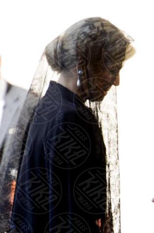 Regina Maxima d'Olanda - Città del Vaticano - 22-06-2017 - Maxima d'Olanda in nero e in lungo da Papa Francesco