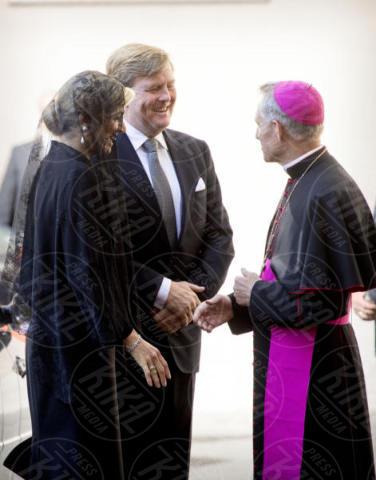 Regina Maxima d'Olanda, Re Willem-Alexander d'Olanda - Città del Vaticano - 22-06-2017 - Maxima d'Olanda in nero e in lungo da Papa Francesco