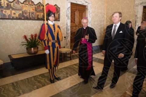 Re Willem-Alexander d'Olanda - Roma - 22-06-2017 - Maxima d'Olanda in nero e in lungo da Papa Francesco