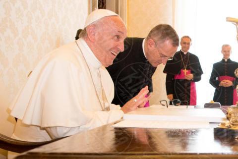 Papa Francesco - Roma - 22-06-2017 - Maxima d'Olanda in nero e in lungo da Papa Francesco