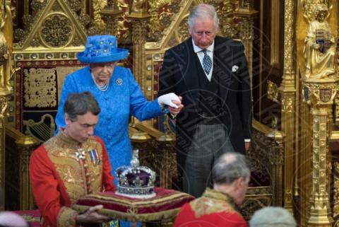 Principe Carlo, Regina Elisabetta II - Londra - 21-06-2017 - Elisabetta II ha l'Europa in testa all'apertura del Parlamento?