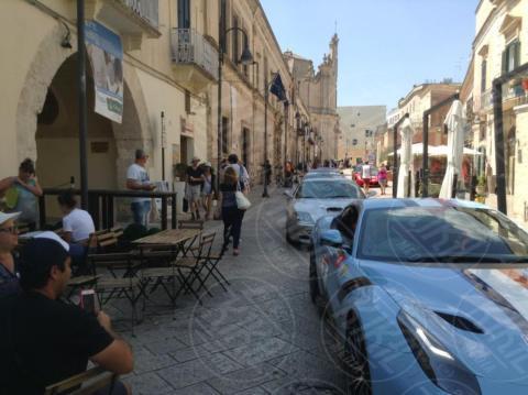 Spettacolo in viaggio, Ferrari - Matera - 22-06-2017 - 110 Ferrari esposte a Matera per celebrare le bellezze del Sud