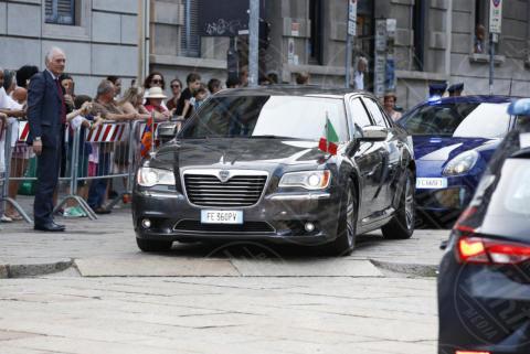 King Willem Alexander, Máxima Zorreguieta Regina d'Olanda, Giuseppe Sala - Milano - 22-06-2017 - Visita al Cenacolo di Milano per Maxima e Willem d'Olanda
