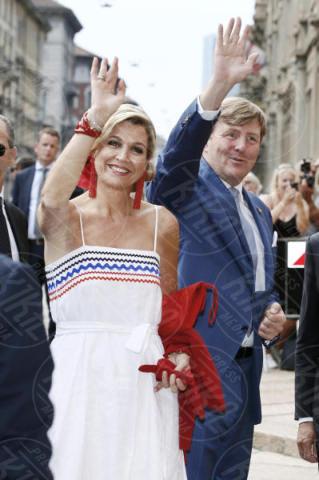 King Willem Alexander, Máxima Zorreguieta Regina d'Olanda - Milano - 22-06-2017 - Visita al Cenacolo di Milano per Maxima e Willem d'Olanda