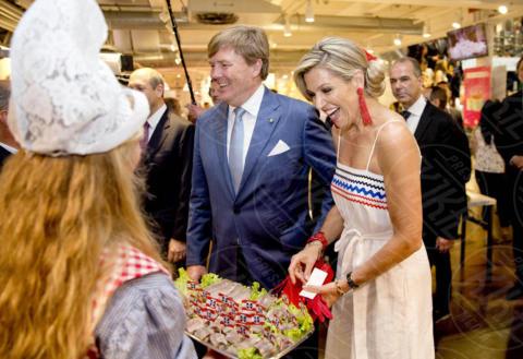 Willem-Alexander of the Netherlands, Queen Máxima of the Netherlands, Regina Maxima d'Olanda - Milano - 22-06-2017 - La Milano di Maxima d'Olanda: calcio, Cinquecento e mozzarella!