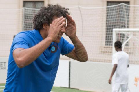 Pierre van Hooijdonk, Regina Maxima d'Olanda - Milano - 22-06-2017 - La Milano di Maxima d'Olanda: calcio, Cinquecento e mozzarella!