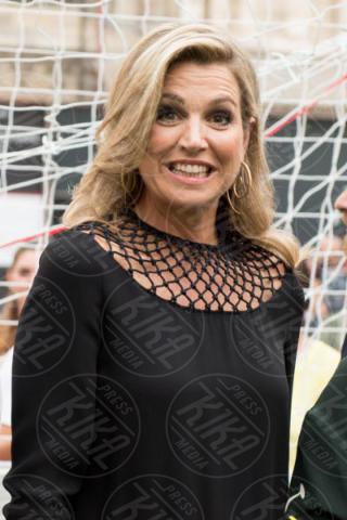Queen Maxima, Regina Maxima d'Olanda - Milano - 22-06-2017 - La Milano di Maxima d'Olanda: calcio, Cinquecento e mozzarella!