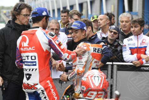 Danilo Petrucci, Marc Marquez - Assen - 24-06-2017 - MotoGp, Valentino Rossi, capolavoro ad Assen: decimo successo