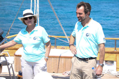 Queen Anne-Marie of Greece, PRINCE NIKOLAOS OF GREECE, Denmark - Spetses - 26-06-2017 - I reali greci si dilettano come skipper