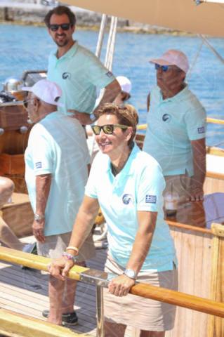 Sofia Bekatorou, NIKOLAOS OF GREECE - Spetses - 26-06-2017 - I reali greci si dilettano come skipper