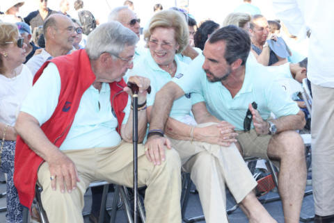 Constantine II of Greece, Queen Anne-Marie of Greece, PRINCE NIKOLAOS OF GREECE, Denmark - Spetses - 26-06-2017 - I reali greci si dilettano come skipper