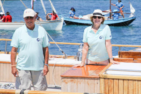 Constantine II of Greece, Queen Anne-Marie of Greece - Spetses - 26-06-2017 - I reali greci si dilettano come skipper