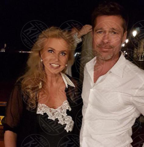 Eleonora Ortica, Brad Pitt - Venezia - 28-06-2017 - Le tappe veneziane del turista Brad Pitt. Seguiteci