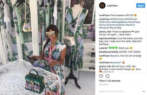 Luxafrique, #DGortensia - Il fiore dell'estate? L'ortensia, quella di Dolce & Gabbana