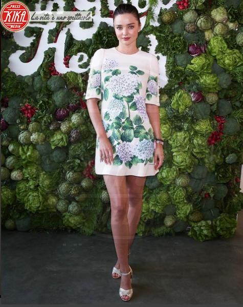 #DGortensia, Miranda Kerr - Il fiore dell'estate? L'ortensia, quella di Dolce & Gabbana
