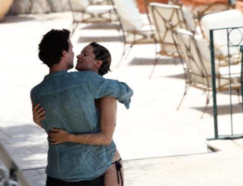 Andrea Delogu, Francesco Montanari - Taormina - 01-07-2017 - Francesco Montanari, il Libanese è sempre più innamorato